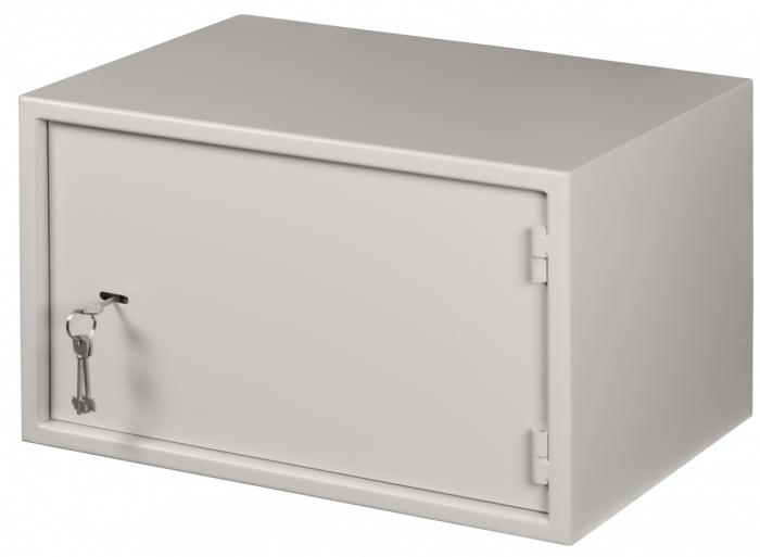 Антивандальный шкаф (сейф для видеорегистратора) в системе видеонаблюдения