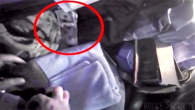 Полицейского-вора «сдала» его нательная камера
